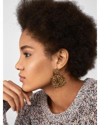 BaubleBar - Metallic Eve Hoop Earrings - Lyst