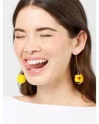 BaubleBar - Multicolor Lovestruck Emoticharm Drop Earrings - Lyst
