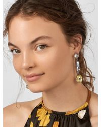 BaubleBar - Blue Cassandria Drop Earrings - Lyst
