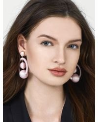 BaubleBar - Purple Pavana Drop Earrings - Lyst