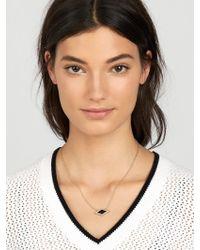 BaubleBar | Gray Celestina Pendant Necklace | Lyst
