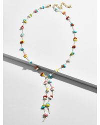 BaubleBar - Multicolor Isha Y-chain Necklace - Lyst