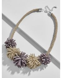BaubleBar - Metallic Riviera Statement Necklace - Lyst