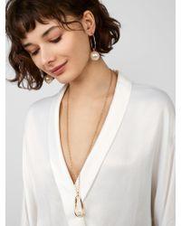 BaubleBar - Multicolor Stasia Pendant Necklace - Lyst
