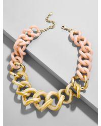 BaubleBar - Multicolor Francina Linked Statement Resin Necklace - Lyst