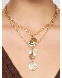 BaubleBar - Multicolor Talia Layered Pendant Necklace - Lyst