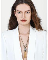 BaubleBar | Multicolor Margarida Tassel Necklace | Lyst