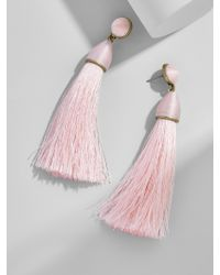 BaubleBar - Multicolor Rosabella Tassel Earrings-blush - Lyst