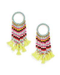 BaubleBar | Multicolor Zavrina Tassel Earrings | Lyst