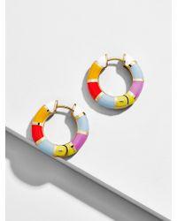 BaubleBar - Multicolor Manila Huggie Hoop Earrings - Lyst