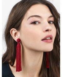 BaubleBar - Multicolor Valencia Tassel Earrings - Lyst