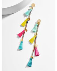 BaubleBar - Multicolor Gina Tassel Earrings - Lyst