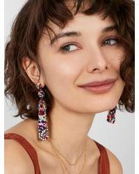 BaubleBar - Multicolor Granita Tassel Earrings - Lyst