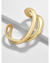 BaubleBar - Metallic Nateria Cuff Bracelet - Lyst