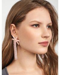 BaubleBar - Multicolor Lily Drop Earrings - Lyst
