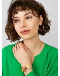 BaubleBar - Metallic Titan Cuff Bracelet - Lyst