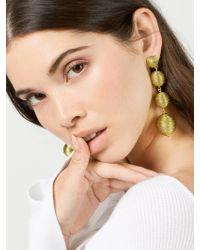 BaubleBar - Criselda Ball Drop Earrings-metallic Gold - Lyst