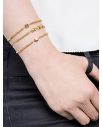 BaubleBar - Metallic Lovestruck Emoticharm Bracelet - Lyst