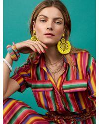 BaubleBar - Yellow Pompeii Drop Earrings - Lyst