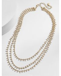 BaubleBar - Multicolor Kirrali Layered Necklace - Lyst