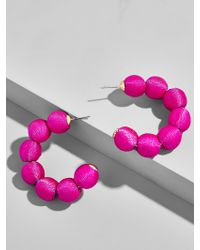 BaubleBar - Multicolor Crisana Hoop Earrings - Lyst