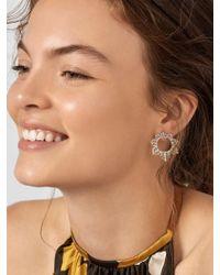 BaubleBar - Multicolor Meadow Hoop Earrings - Lyst