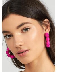 BaubleBar - Multicolor Crisana Hoop Earrings - Lyst