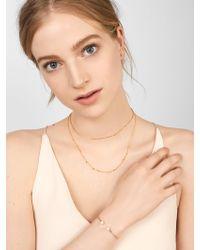 BaubleBar - Multicolor Perla 18k Gold Plated Bracelet - Lyst