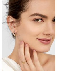 BaubleBar - Multicolor Tiara 18k Gold Plated Ring - Lyst
