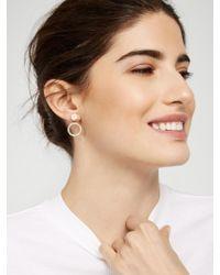 BaubleBar - Metallic Champagne Ear Jackets - Lyst