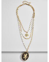 BaubleBar | Metallic Zion Layered Necklace | Lyst