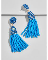 BaubleBar | Blue Mini Piñata Tassel Earrings | Lyst