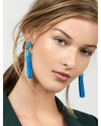 BaubleBar - Blue Piñata Tassel Earrings - Lyst