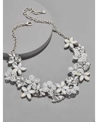BaubleBar - Multicolor Snowflower Statement Necklace - Lyst
