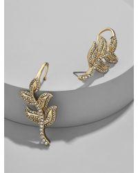 BaubleBar - Metallic Lotus Ear Crawlers - Lyst