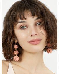 BaubleBar - Multicolor Floral Crispin Ball Drop Earrings - Lyst