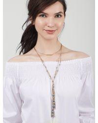 BaubleBar - Metallic Cortez Layered Necklace - Lyst