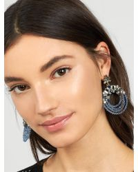 BaubleBar - Multicolor Polar Hoop Earrings-blue - Lyst