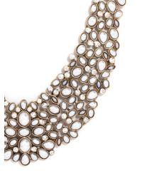 BaubleBar - Gray Kew Collar - Lyst