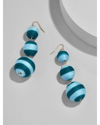 BaubleBar | Multicolor Striped Crispin Ball Drop Earrings | Lyst