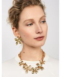 BaubleBar - Multicolor Windflower Statement Necklace - Lyst