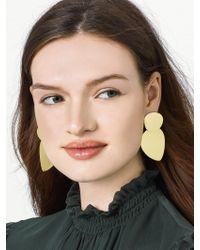 BaubleBar - Metallic Barcelona Drop Earrings - Lyst