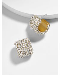 BaubleBar - Metallic Jocelyn Stud Earrings - Lyst