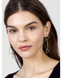 BaubleBar - Multicolor Minimal Heart Drop Earrings - Lyst
