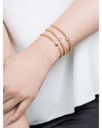 BaubleBar - Metallic Lovestruck Kitty Emoticharm Bracelet - Lyst
