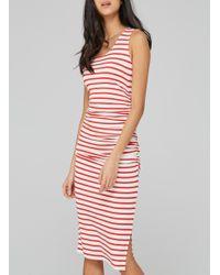Baukjen - Red Hanna Striped Tank Dress - Lyst