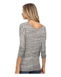 Alternative Apparel | Gray Eco Space Dye Jersey Escapist Tunic | Lyst