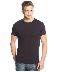 Armani Jeans | Black Back-graphic T-shirt for Men | Lyst
