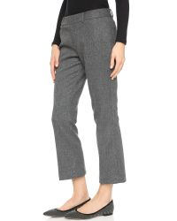 Club Monaco - Gray Emmala Pants - Medium Heather Grey - Lyst