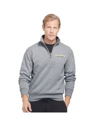 Ralph Lauren - Gray Fleece Half-zip Pullover for Men - Lyst
